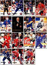 1992-93 PARKHURST CHERRY PICKS INSERT CARDS - PICK SINGLES -FINISH YOUR SET Mint
