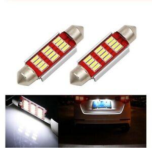 Ampoule C5W 36MM LED Canbus Blanc 6500K plaque d'immatriculation plafonnier 2pcs