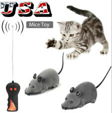 RC Funny Wireless Electronic Remote Control Mouse Rat Pet Toy For Cats
