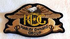 HARLEY DAVIDSON HOG Eagle spoke wheel 4 claw Patch emblem