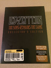 The Song Remains the Same - LZ Collectors Edition Package DVD Sealed New