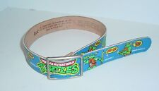1988 Mirage Teenage Mutant Ninja Turtles Child's Lee Brand Leather Belt 20-22""