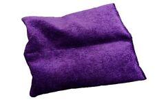 Lower Backs 2 sectional Lavender wheat bag in soft purple velour. Ease back pain