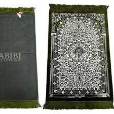 """Safa Épais Islamique Motif Floral Prière Tapis De Turquie 69.8cm x 43 """" -730g"""