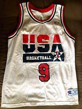 NBA USA NATIONAL DREAM TEAM 1990'S BASKETBALL SHIRT JERSEY CHAMPION #9 JORDAN
