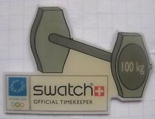 SWATCH / OFFICIAL TIMEKEEPER / ATHEN 2004 ... Uhr / Clock / Horloge-Pin (166c)