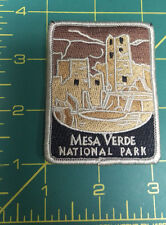 New Traveler Series Patch - Mesa Verde National Park - Colorado - Embroidered
