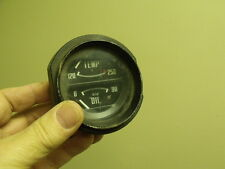 Fiat 850 900 124 x1/9Spider dash oil temperature gauge microcar classic vintage