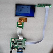 "HDMI VGA 2AV LCD Controller board kit with 5"" LCD  800*480 Panel Screen display"
