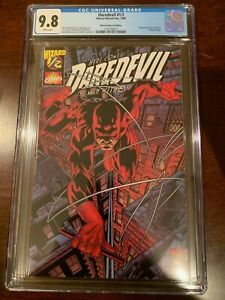 DAREDEVIL 1/2    1999    White pages   CGC 9.8!!