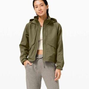 NWT Lululemon Always Effortless Jacket~SIZE:4~ Medium Olive
