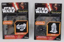 Star Wars Metal Earth 3D Model Kits Lot Darth Vader's Tie X1 Starfighter & R2-D2