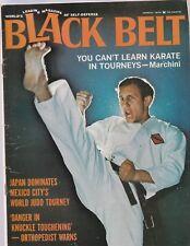 Black Belt March 1970-World'S Leading Magazine Of Self-Defense