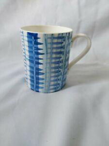 Vintage Josie Firmin Blue Glaze mug signed