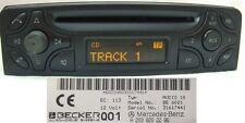 W203 radio MERCEDES AUDIO 10 CD be6021 ORIGINALE CLASSE C Becker autoradio s203