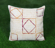 Dari Embroidered Cushion Cover Cotton Pillow Cover Bohemian Decorative Throw