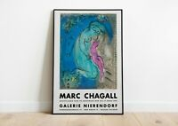 Rare vintage poster 90s Marc Chagall