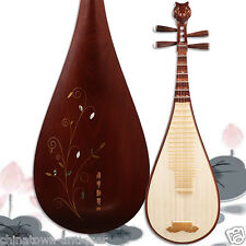Luet Liuqin Chinese Soprano Pipa Lute Guitar Musical Instrument Yue hai #4109