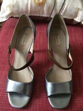 Marc Jacobs High Heels Sandals Size 40 Metallic Light Blue