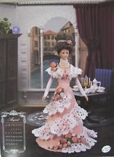 Annie's Attic Potter Fashion Bed Doll August Crochet Pattern 1995 Trousseau