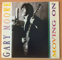 "Gary Moore "" Moving On "" - Vinyl Single 7 "" Promo - Virgin Sp 1 - 1990 Spain"