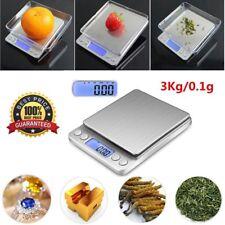 3000g/0.1g Balance de Cuisine Electronique Bijoux Précision Poche Écran LCD