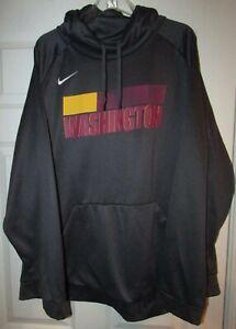 NFL Washington Redskins Team Issued Gray Hoodie Sweatshirt 3XL by Nike AB