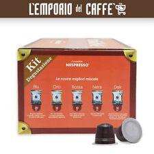 KIT DEGUSTAZIONE CAFFE BORBONE 60 Capsule Cialde Compatibili SISTEMA NESPRESSO