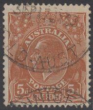 *NEW ERD* INNISFAIL 5(t)i 17 July 1939 Queensland postmark 5d KGV QLD Australia