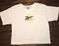 Vintage Reebok Crop Top Shirt Sz. M