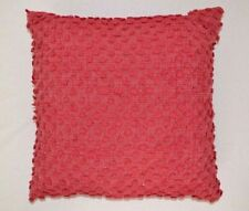 "$60 Bar III Lyla Woven Tufts Red 20"" Square Decorative Pillow"