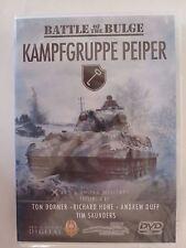 the Battle of the Bulge: Kampfgruppe Peiper 80 minutes, NTSC, Region 1