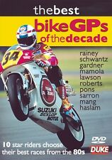 The Best Bike GPs of the Decade - 1980s (New DVD) Motorcycle Sport Haslam Rainey