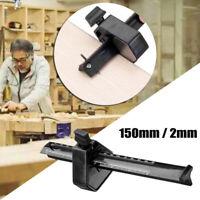 6'' Marking Gauge 0-150mm Carpentry Woodworking Tool Parallel Scriber Black