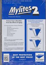 50 E. Gerber Mylites 2 Mil Mylar Thick Silver Age Comic Book Bags sleeves 775M2
