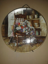 "1990 W.S. George Grandma's Garden "" COUNTRY CUTTINGS "" Collectors Plate"