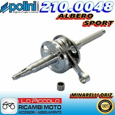 210.0048 ALBERO MOTORE SPORT POLINI ALLEGGERITO MOTORI MINARELLI ORIZZONTALE
