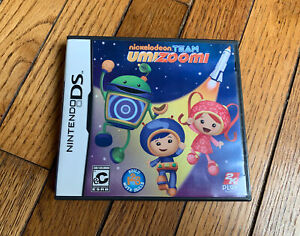 Nintendo ds Game Nickelodeon Team Umizoomi Complete