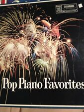 Pop Piano Favorites Vintage Record Album Set Dynagroove Readers Digest