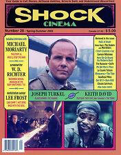 Shock Cinema #20 Steve Puchalski Michael Moriarty Keith David Joe Turkel