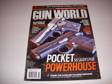GUN WORLD Magazine, November, 2013, SIG SAUER'S P938, RUGER'S MINI-14, CZ-S 550!