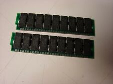 TI 30 pin simm memory 2-1mb modules 80ns 2mb total with parity 9 chip