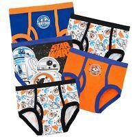 Star Wars Underwear | Boys Star Wars Pants | Pack of 5 Star Wars Briefs | NEW