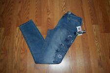 NWT Womens SEVEN 7 Latimer Blue High Rise Skinny Floral Jeans Sz 6 $89