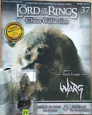 LORD OF THE RINGS Chess Collection Set 2 #37: 'WARG', Eaglemoss, + magazine