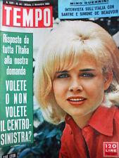 TEMPO n°44 1963 Sue Lyon - Sandra Milo - Brigitte Bardot [C89]