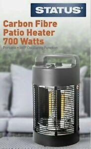🔥 Carbon Fibre Table Top Garden Patio Heater Oscillating 360 Degree 🔥 Fast 🚚