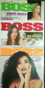 Boss Rivista N 2 3 4 1998 Afef Padma Lakshmi Sabina Began Anna N Smith