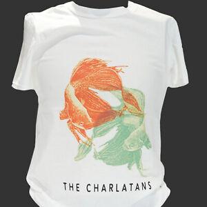 THE CHARLATANS BRIT POP INDIE ALTERNATIVE ROCK T-SHIRT unisex S-3XL