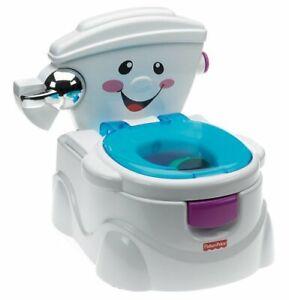 Fisher-Price P4326 Meine erste Toilette Töpfchen und Toilettensitz mit Musik ...